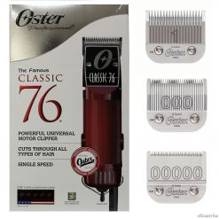Oster Classic 76 Hair Clipper with Detachable #00000 000 & 1 Blades