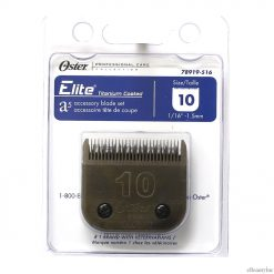 Oster Elite CryogenX Professional Animal Clipper Blade #10 for A5 - 78919-516