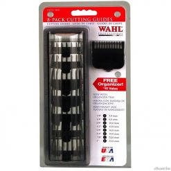 Wahl Attachment Black Combs 8pc With Organizer Set
